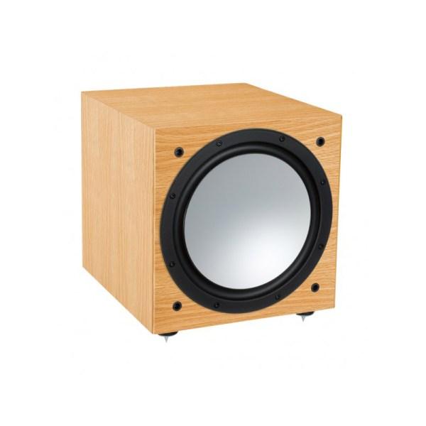 Monitor Audio Silver W-12 6G è un subwoofer rovere naturale aperto