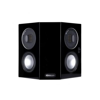 Monitor Audio Gold FX 5G è un diffusore da parete nero laccato aperto