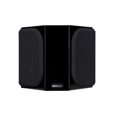 Monitor Audio Gold FX 5G è un diffusore da parete nero laccato griglia
