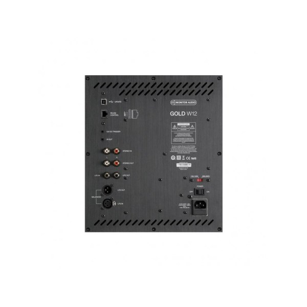 Monitor Audio Gold W12 5G è un subwoofer retro
