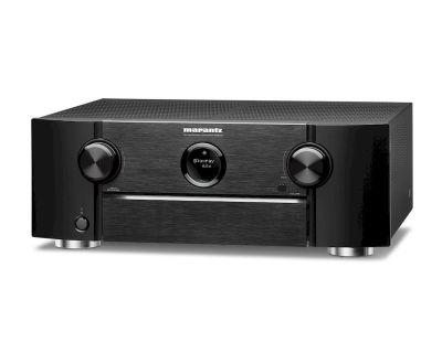 Marantz SR6015 è un sintoamplificatore audio/video nero