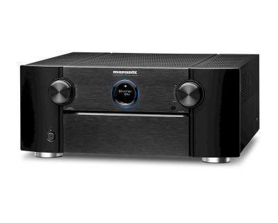 Marantz SR 8015 è un sintoamplificatore audio/video nero