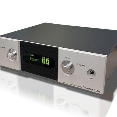 Eam Lab Element C201 è un preamplificatore silver