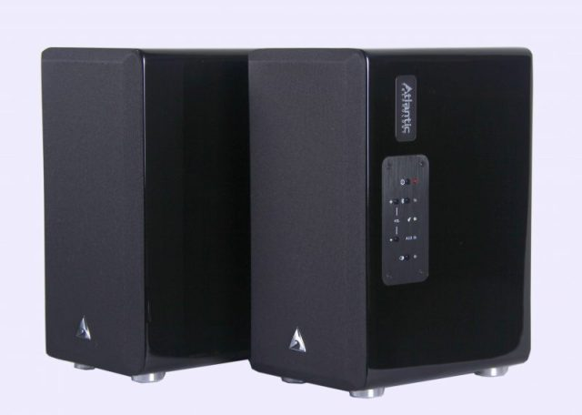 Atlantic Technology FS-252 Wireless Powered Bookshelf Speakers