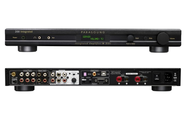 Parasound NewClassic 200 Integrated Amplifier