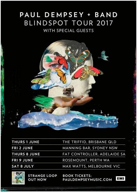 Paul Dempsey Tour Poster 2017