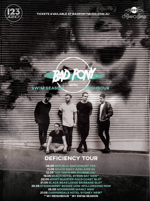 Bad Pony Tour Poster