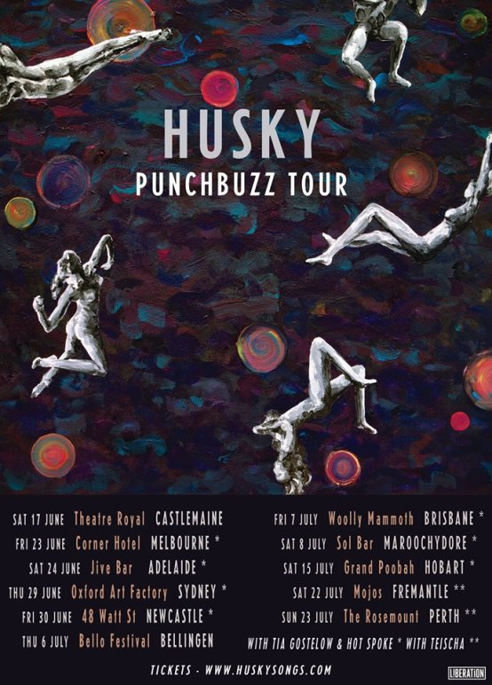 Husky Tour Poster