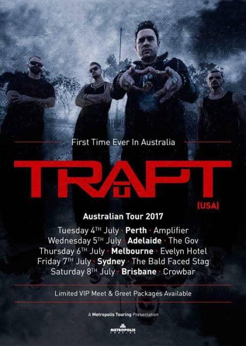 Trapt Tour Poster