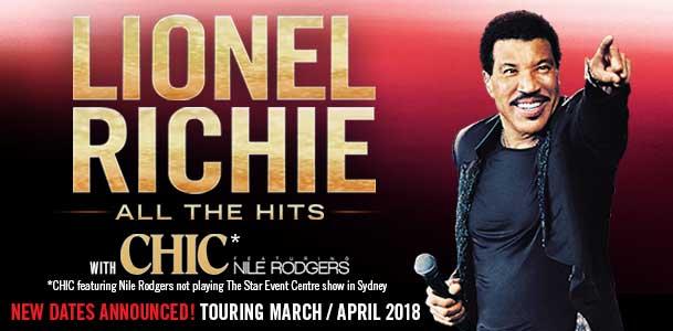 Lionel Richie Tour Banner 2018