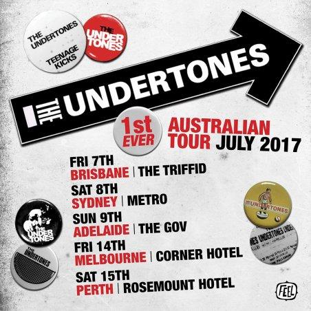 The Undertones Tour Poster