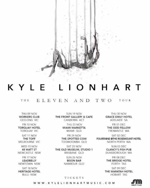 Kyle Lionhart Tour Poster.png