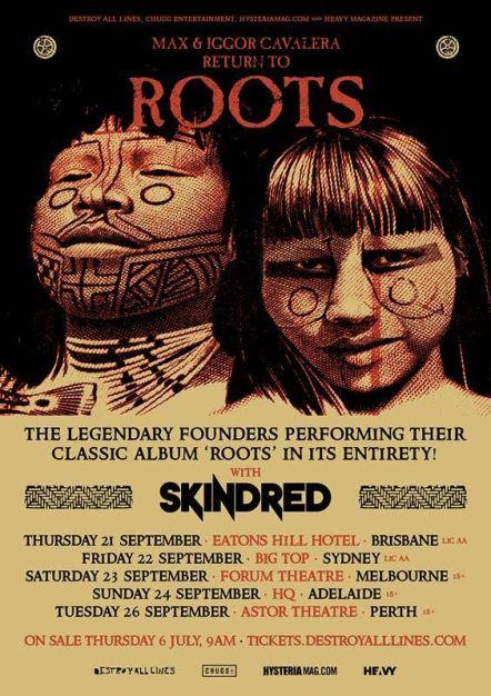 Max & Iggor Cavalera Australian Tour Poster