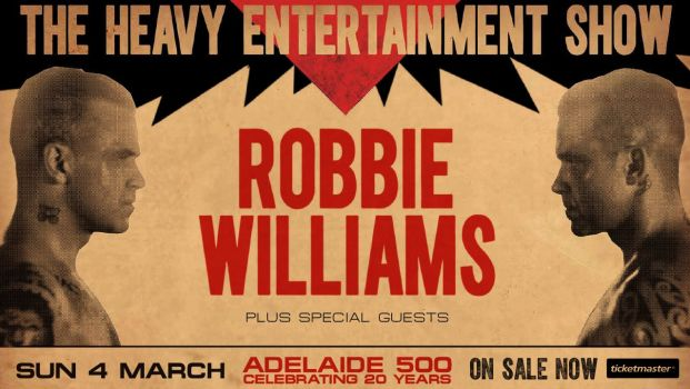 Robbie Williams Banner