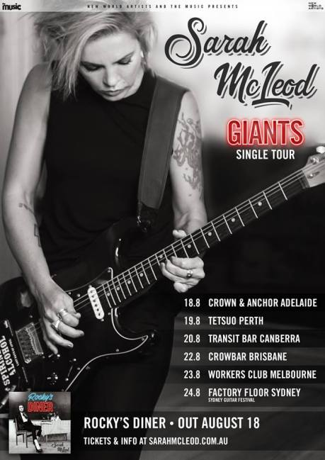 Sarah McLeod Single Tour