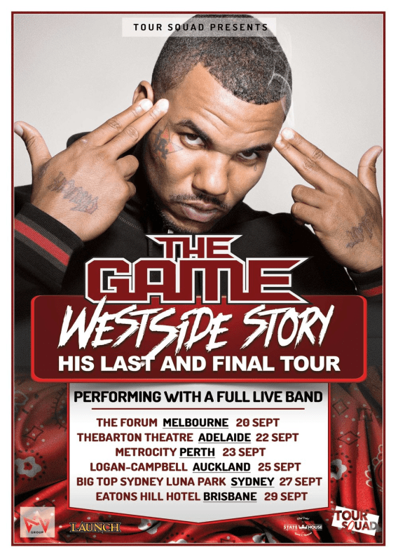 The Game Tour Poster