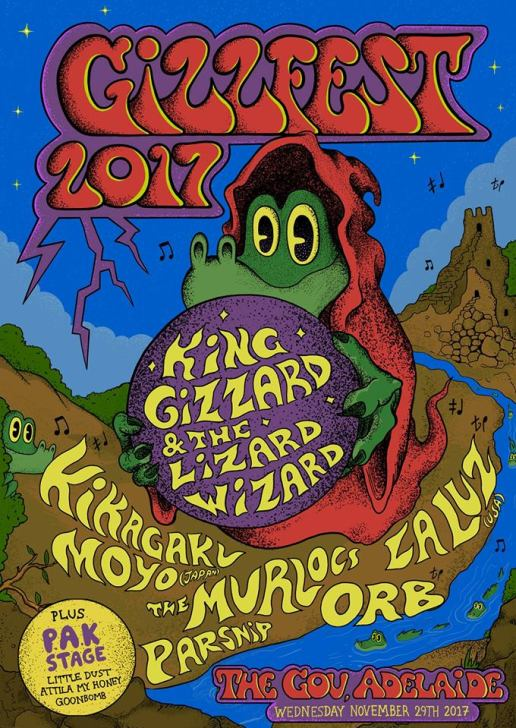 Gizzfest Adelaide