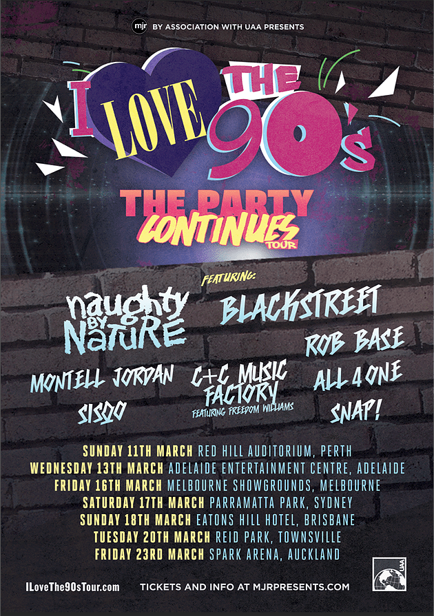 I Love The 90s The Party Returns