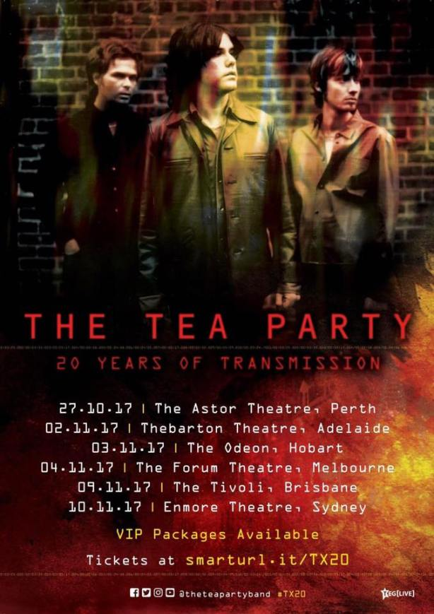 The Tea Party Australian Tour Poster
