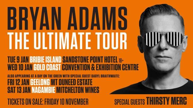 Bryan Adams Tour Banner