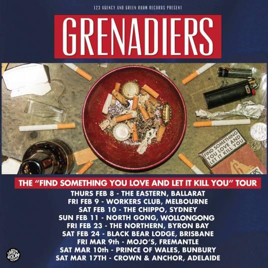 Grenadiers Tour Poster