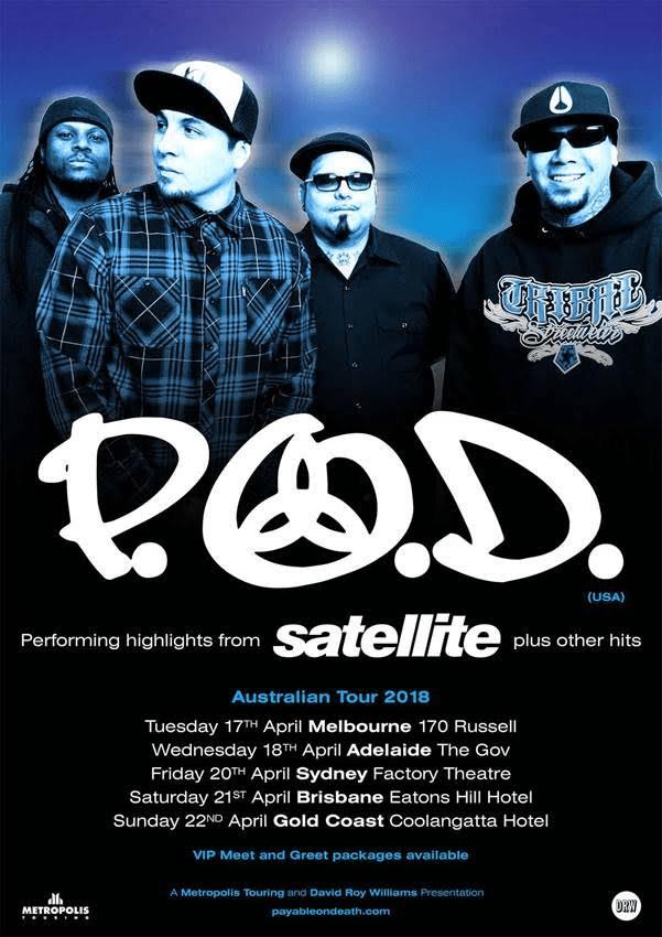 P.O.D Tour Poster