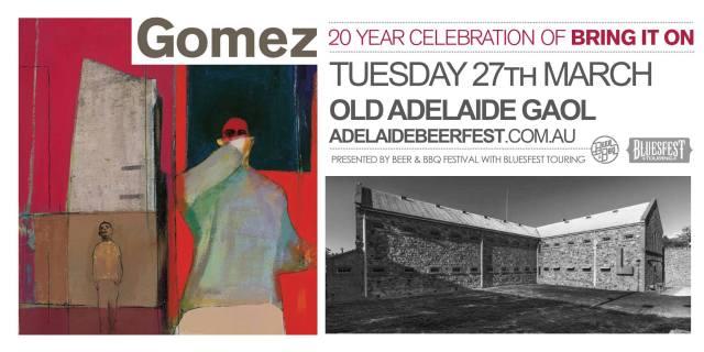 Gomez - Adelaide