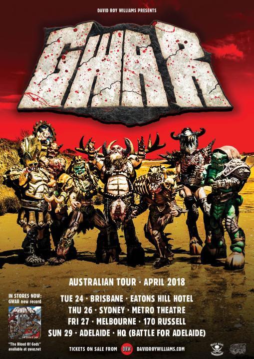 Gwar Tour Poster