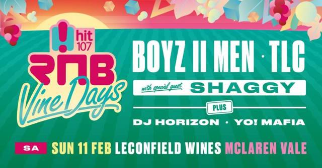 RNB Vine Days Adelaide