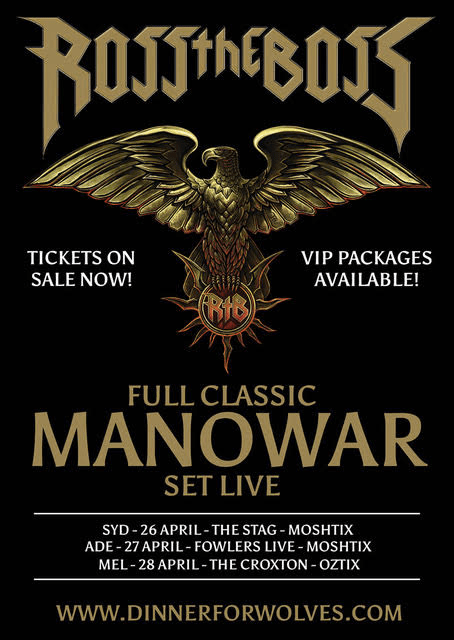 Ross The Boss Tour Poster