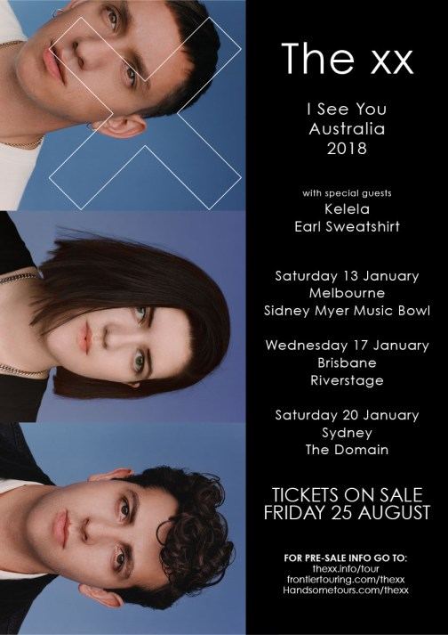 The XX Tour Poster
