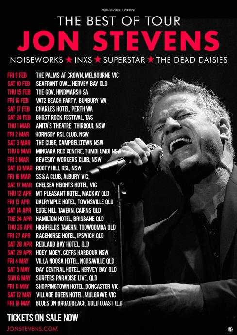 JOn Stevens Tour Poster 2018