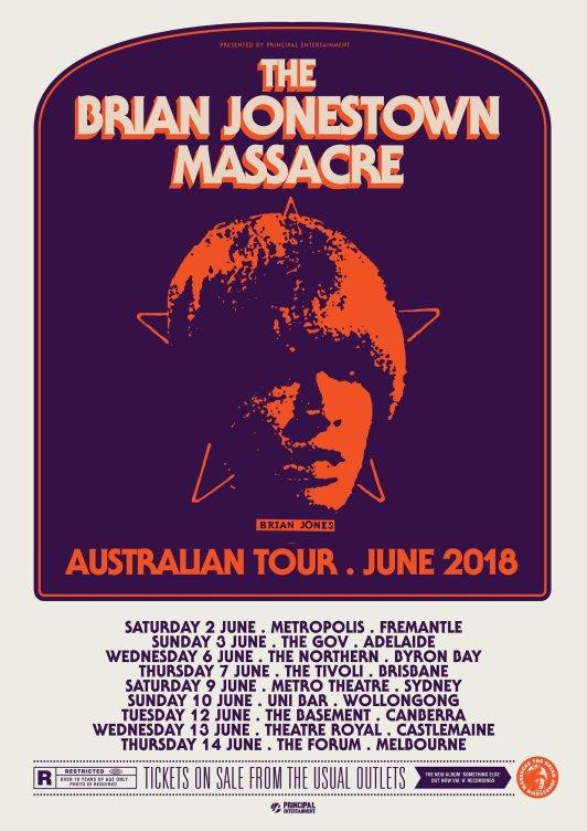 BJM Tour Poster