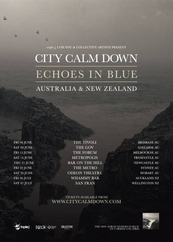 City Calm Down 2018 Tour Poster