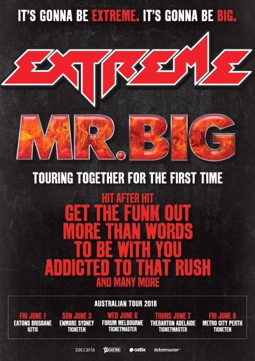 Extreme Tour Poster