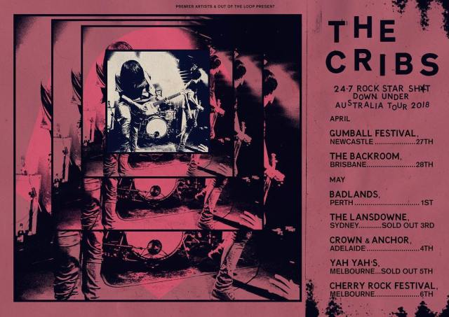 The Cribs Australian Tour