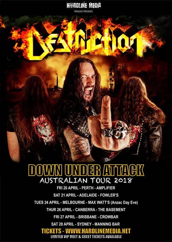 Destruction Tour Poster