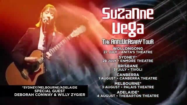 Suzanne Vega Tour Banner