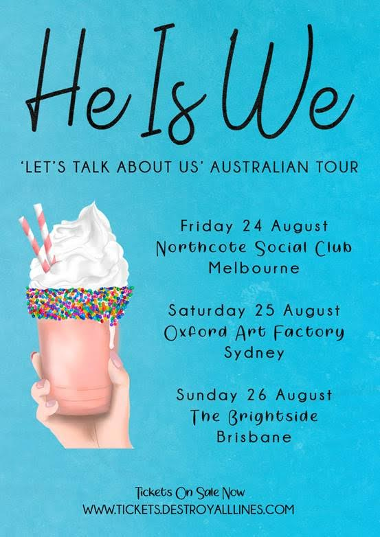 He Is We Tour Poster