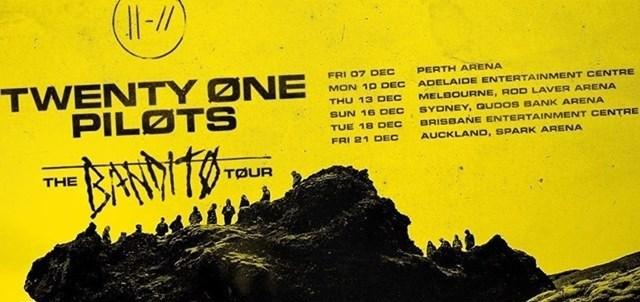 Twenty One Pilots Tour Banner