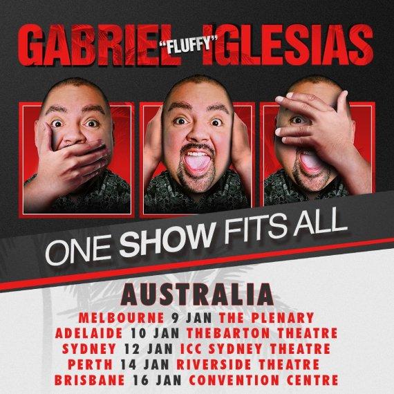 Gabriel Iglesias Tour Poster