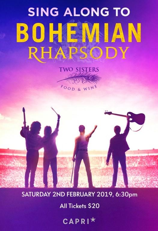 bohemian rhapsody sing-a-long poster