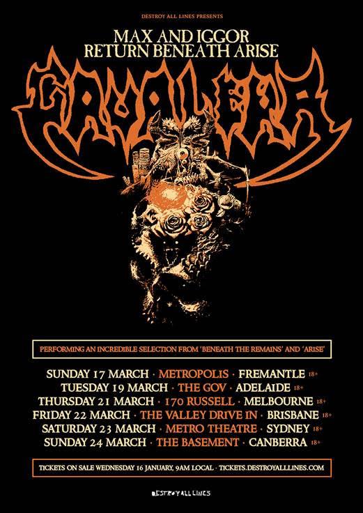 max & iggor tour poster