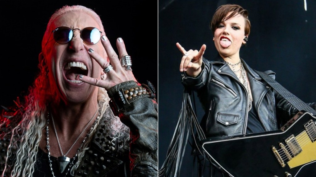 Dee Snider Lzzy Hale Team Up For The Magic Of Christmas Day
