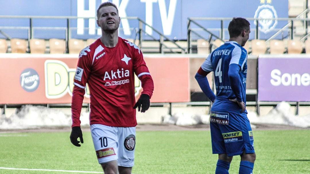Juho Mäkelä on osunut kahdessa ottelussa peräkkäin. Viime kaudella VPS-paidassa 16 maalia iskeneen kokeneen hyökkääjän kone alkaa lämmetä, kun liigakausi lähenee.