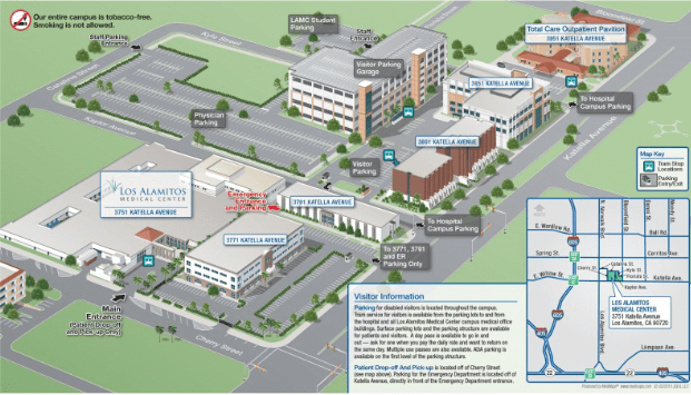 MAP LOS ALAMITOS MEDICAL CENTER CAMPUS