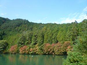 10月の南伊那ケ湖