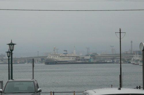 函館港の摩周丸