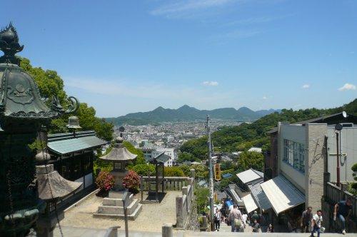 大門からの眺望
