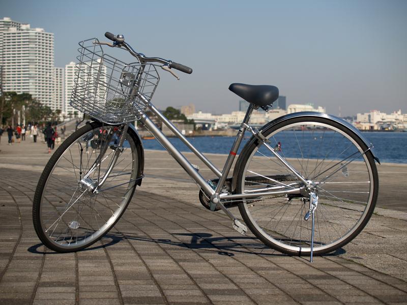 男子自転車